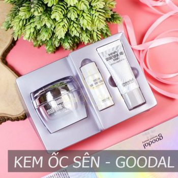 Bộ Kem Ốc Sên Goodal – Premium Snail Tone Up Cream Special Set