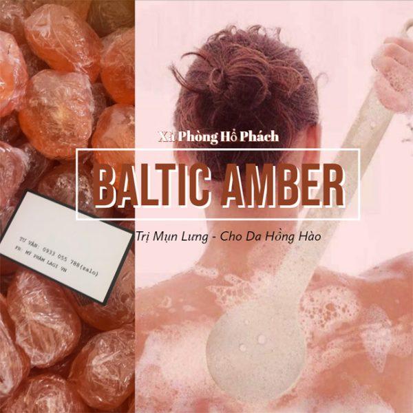 Xà phòng hổ phách Baltic Amber