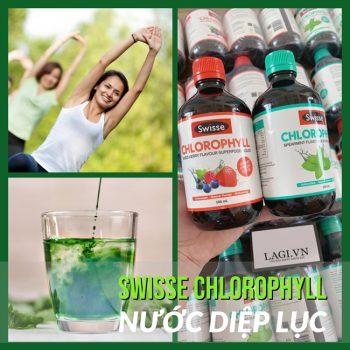 Nước Diệp Lục Cải Thiện Sức Khỏe Swisse Chlorophyll Úc