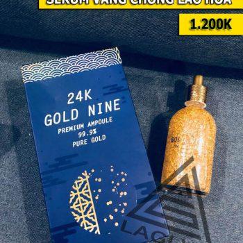 Serum Vàng 24k Gold Nine Chống Lão Hóa Da, Giúp Da Trắng Mịn