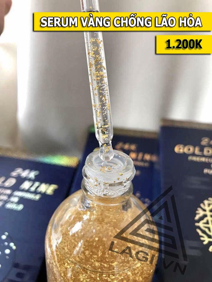 serum vàng chống lão hóa da