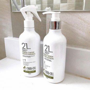 Bộ Sữa Dưỡng Trắng 21 Days Perfect Body White Hàn Quốc 250ml