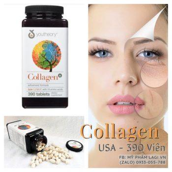 Viên Uống Đẹp Da Mỹ 390 Viên, Collagen Mỹ Youtheory