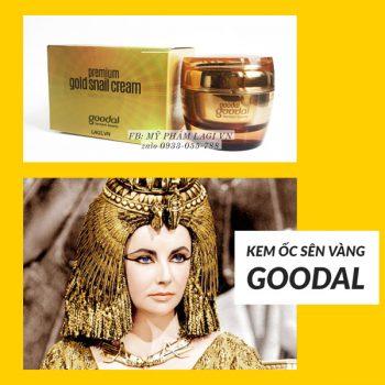 Kem Ốc Sên Vàng Goodal – Kem Dưỡng Da Ban Đêm