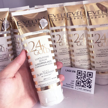 Kem Tan Mỡ Eveline Tinh Chất Vàng 24k - Kem Tan Mỡ Ba Lan