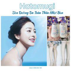 Sữa Dưỡng Da Toàn Thân Nhật Bản