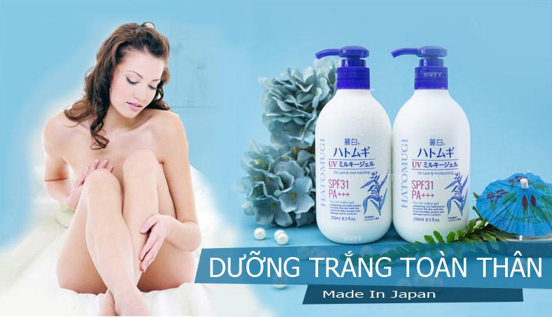 Sữa Dưỡng Da Toàn Thân Nhật Bản Hatomugi