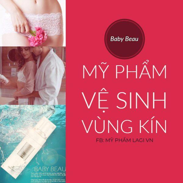 Mỹ Phẩm Vệ Sinh Vùng Kín Baby Beau