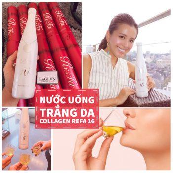 Nước Uống Trắng Da Collagen REFA 16 NHẬT BẢN