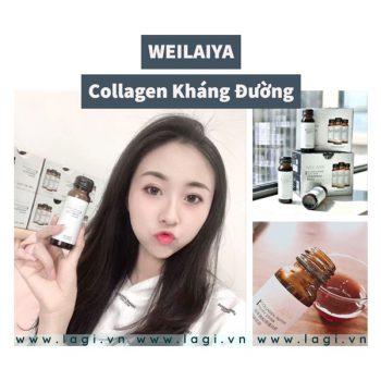 Collagen Kháng Đường Weilaiya Se Khít Lổ Chân Lông 80%