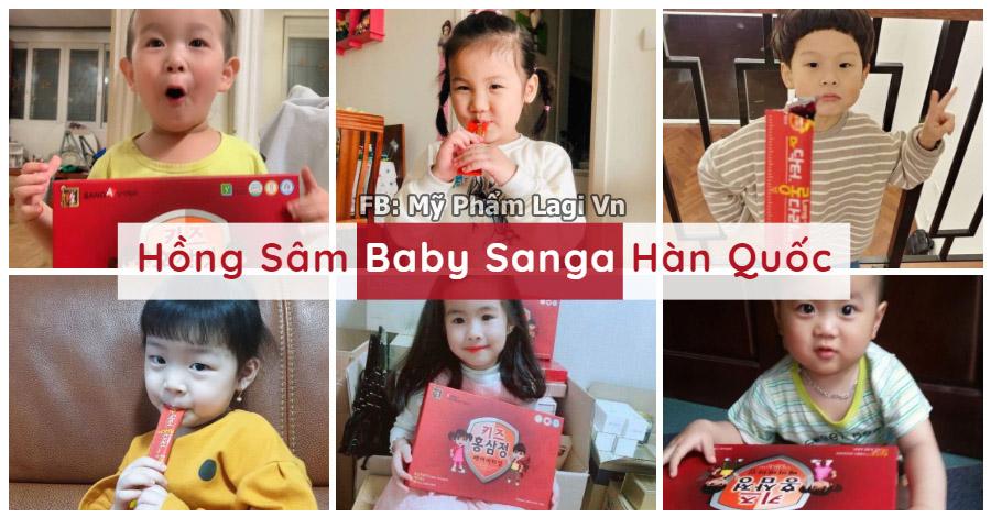 Hồng Sâm Baby Sanga Chính Hãng