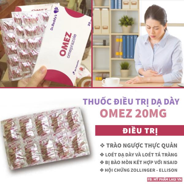 Thuốc điều trị dạ dày OMEZ Nga