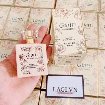 Nước hoa Giotti Blooming Chatler 50ml- PHÁP