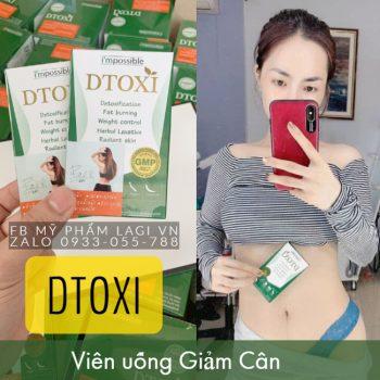 Viên uống Giảm Cân DTOXI Thái Lan