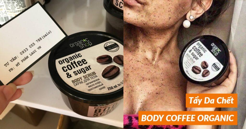 Tẩy Da Chết BODY COFFEE ORGANIC