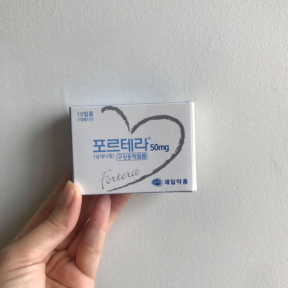 Kẹo Ngậm Tăng Sinh Lý Viagra Hàn Quốc Fortera