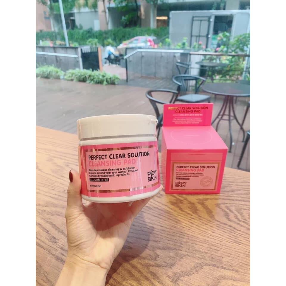 Bông Tẩy Trang Picky Skin Nội Địa Hàn Quốc 14AKR02