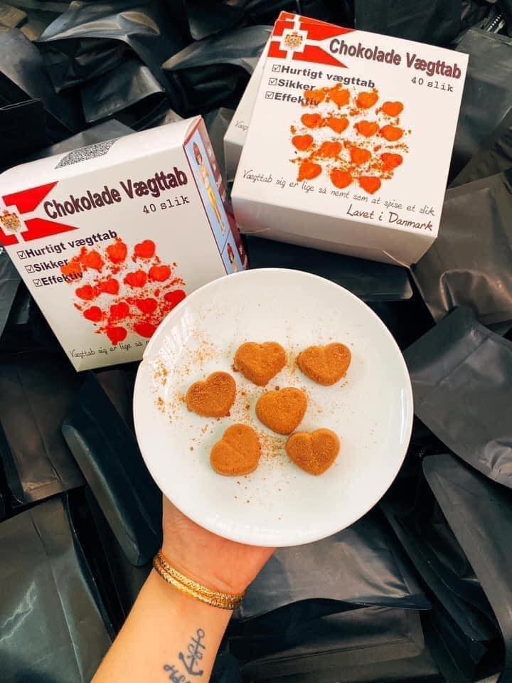 Kẹo Socola Giảm Cân Đan Mạch 10ADK01