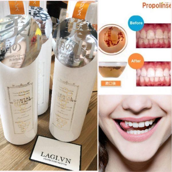 Dental Whitening Nước Súc Miệng Nhật Bản