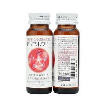 Nước Uống Trắng Da Pure White Nhật Bản – Collagen Shiseido