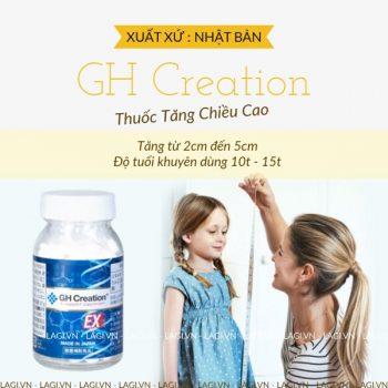 Thuốc Tăng Chiều Cao GH Creation EX Nhật Bản